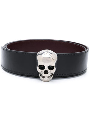 Alexander McQueen 3d buckle reversible belt