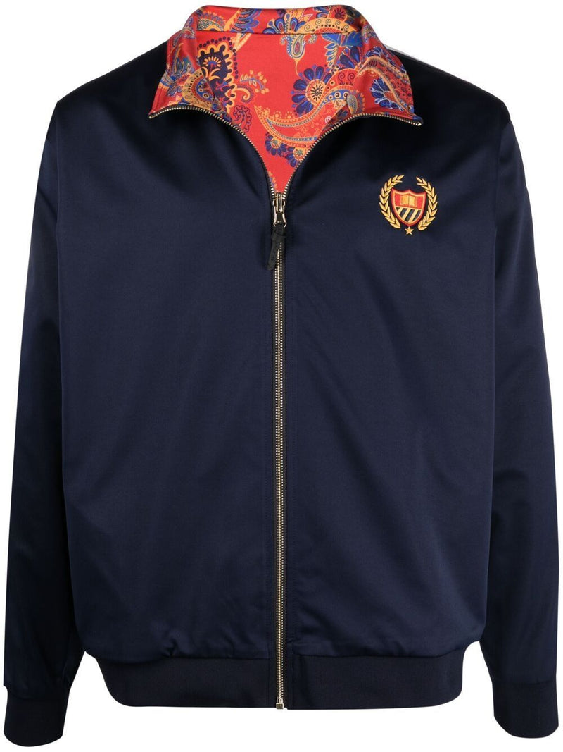 BEL-AIR ATHLETICS Reversible Logo Track Jacket