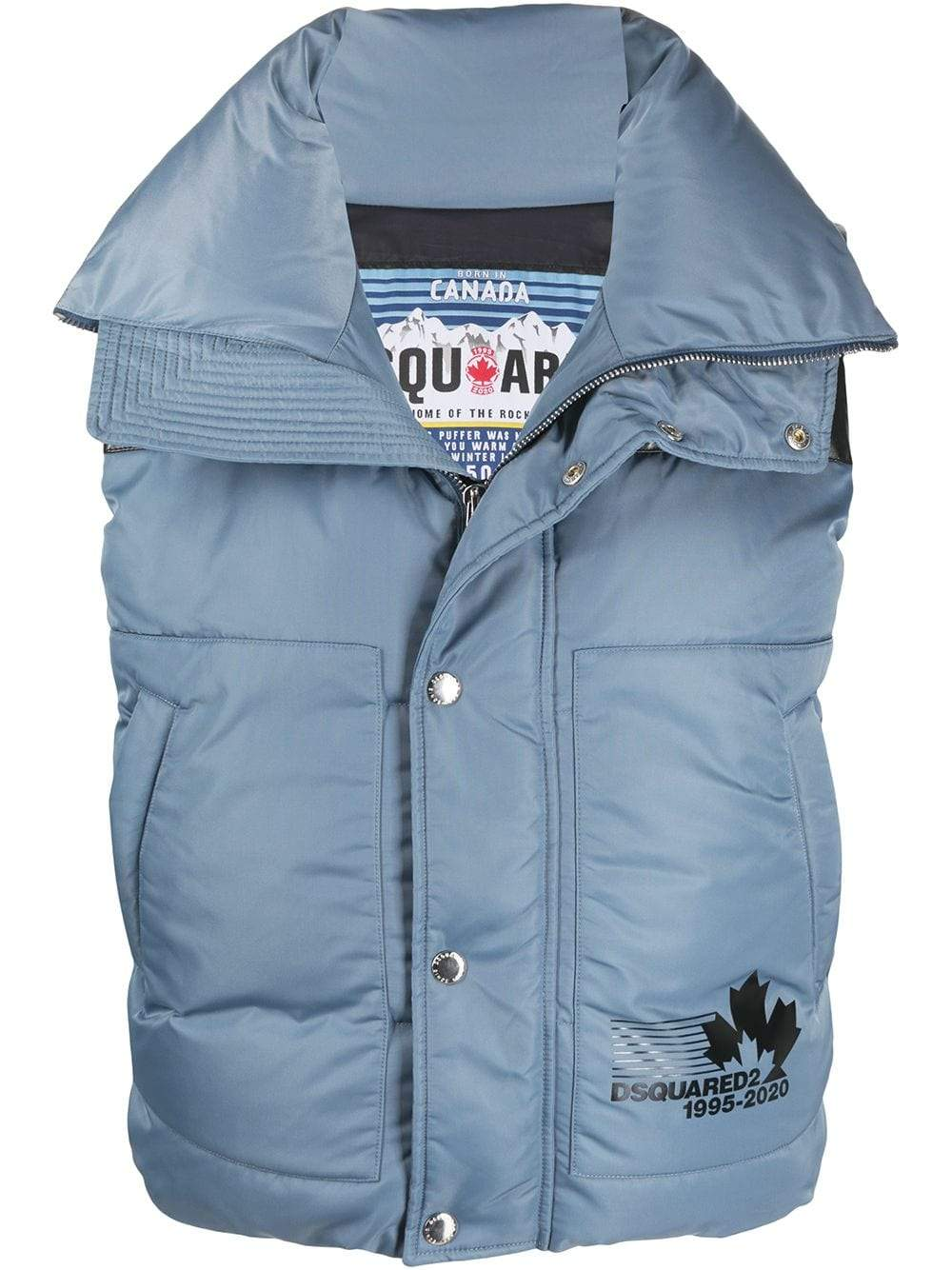 DSQUARED2 Logo Colour Block Gilet - Maison De Fashion