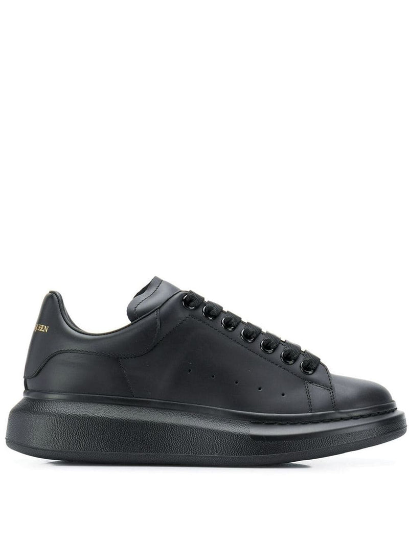 ALEXANDER MCQUEEN oversized sole sneakers black/black