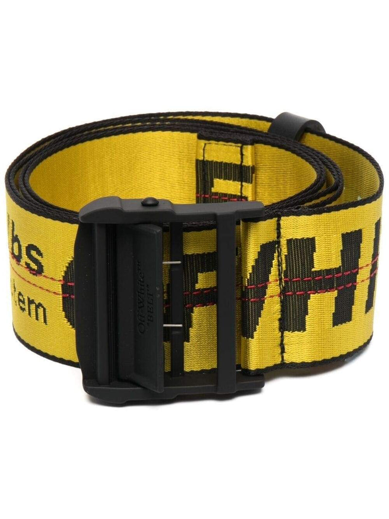 OFF-WHITE Travel Luggage Belt Yellow