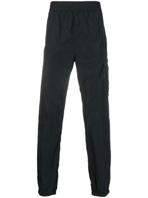 C.P. COMPANY high-waisted track trousers navy - Maison De Fashion