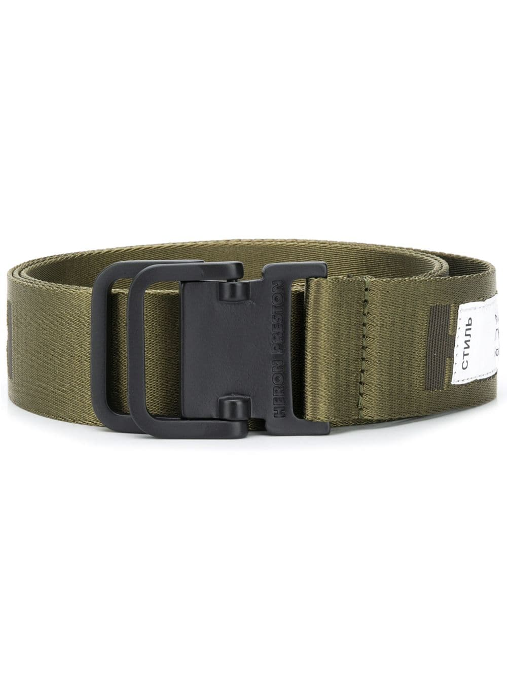 HERON PRESTON Tactical Tape Belt Olive