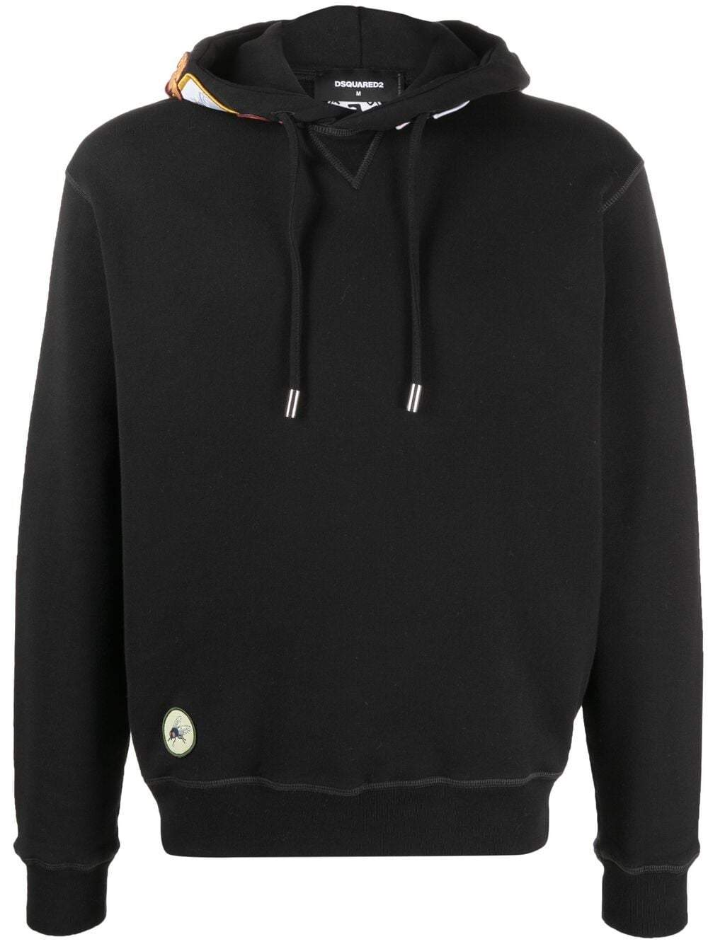 DSQUARED2 Multi Patch Logo Hoodie