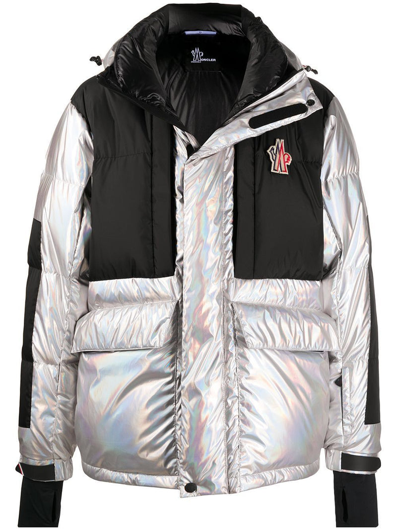 MONCLER GRENOBLE Iridescent Breuil Giubbotto Jacket