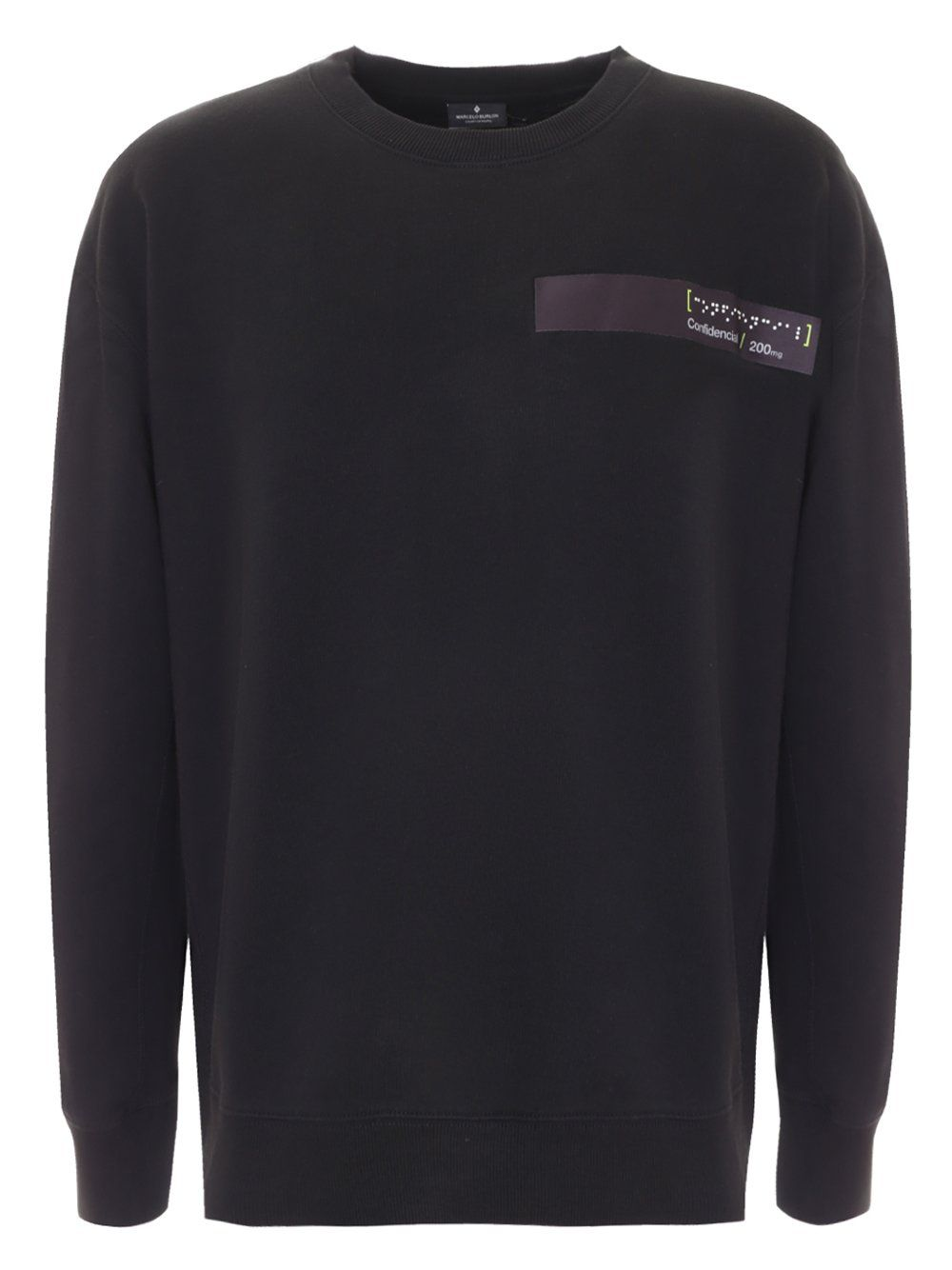 Marcelo Burlon Braille Tape Pocket Sweatshirt