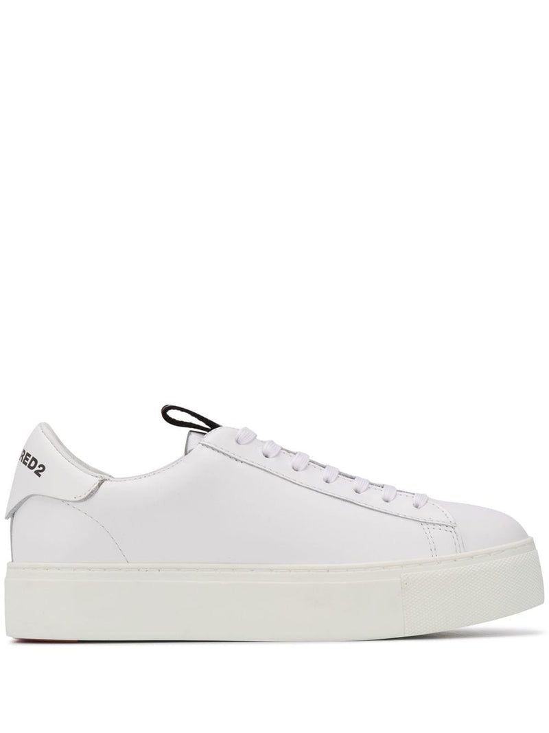 DSQUARED2 Women 251 Tape Sneakers White/Black