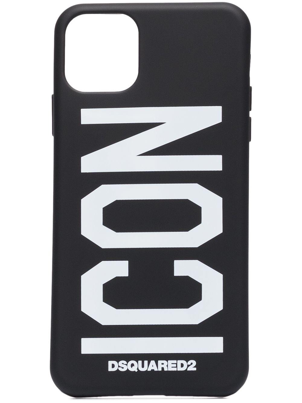 DSQUARED2 Icon iPhone 11 Case Black/White
