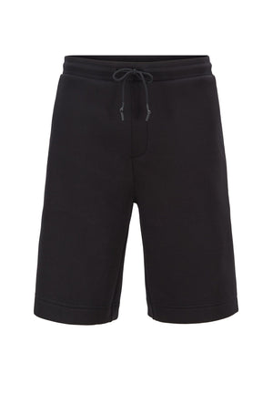 Boss Relaxed Fit Shorts With Embossed Pocket - Maison De Fashion