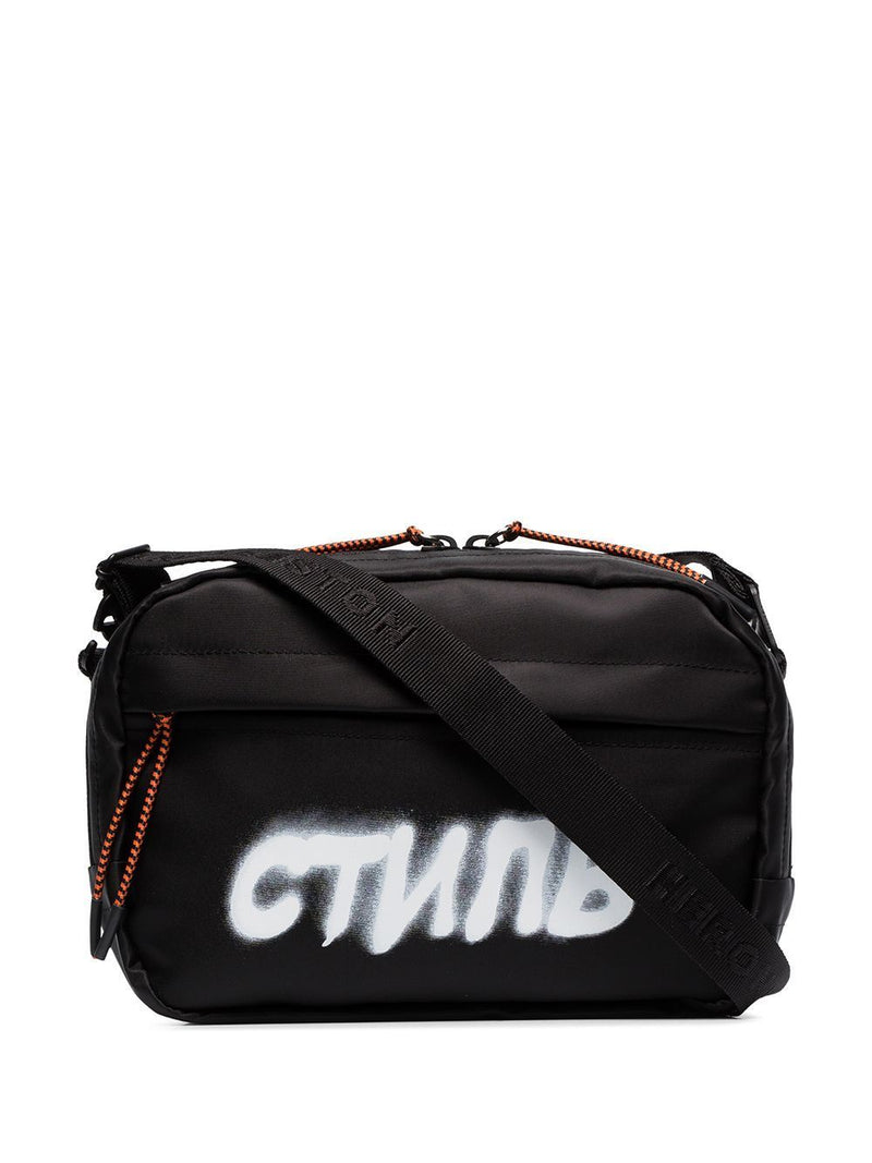 HERON PRESTON CTNMB spray print belt bag Black
