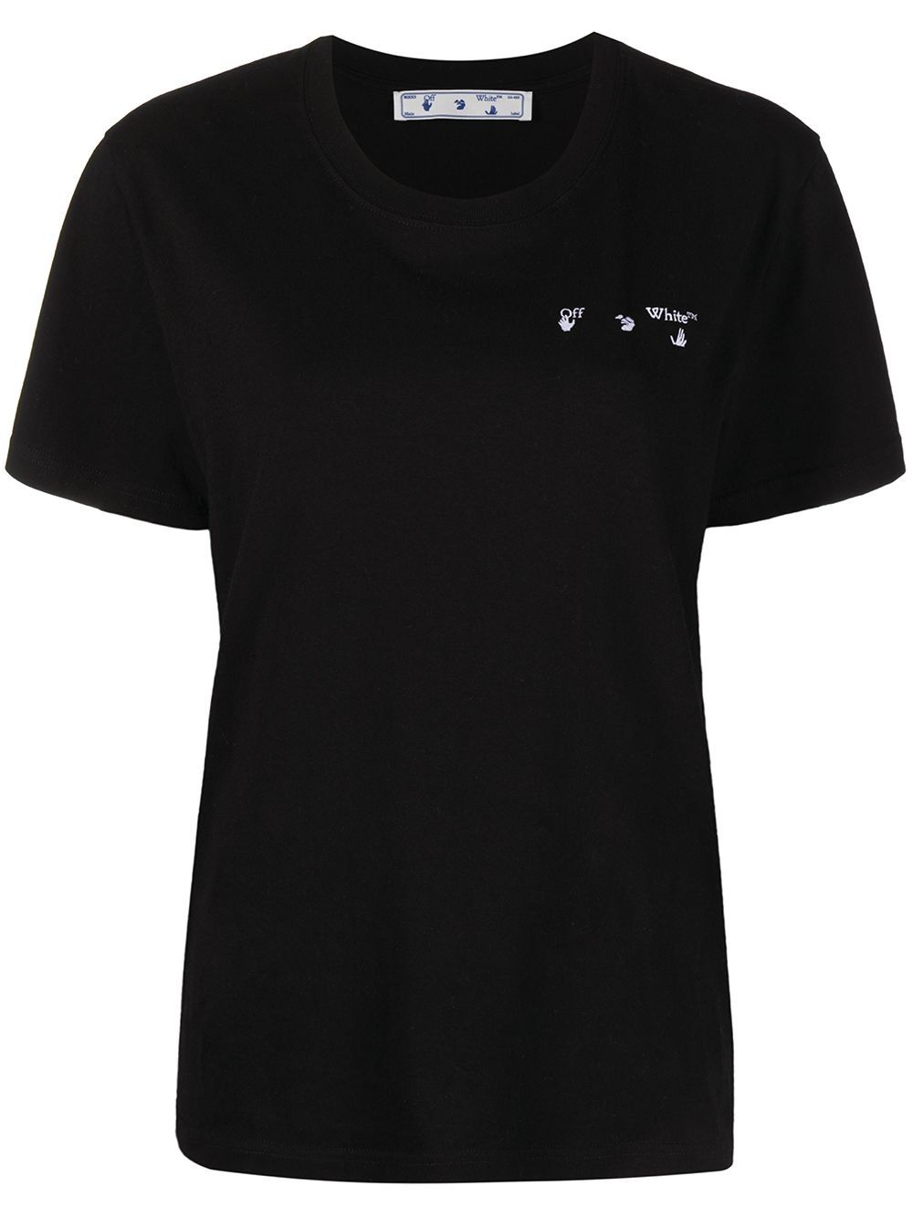 OFF-WHITE Women Arrow Liquid Melt T-Shirt Black
