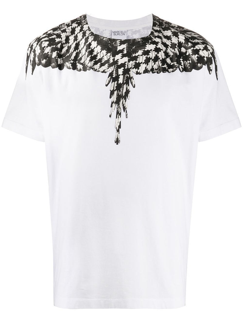 MARCELO BURLON Cross Pattern Wings T-shirt