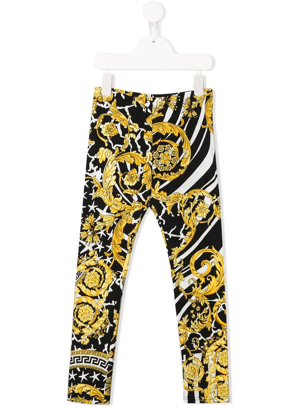VERSACE Kids printed leggings - Maison De Fashion