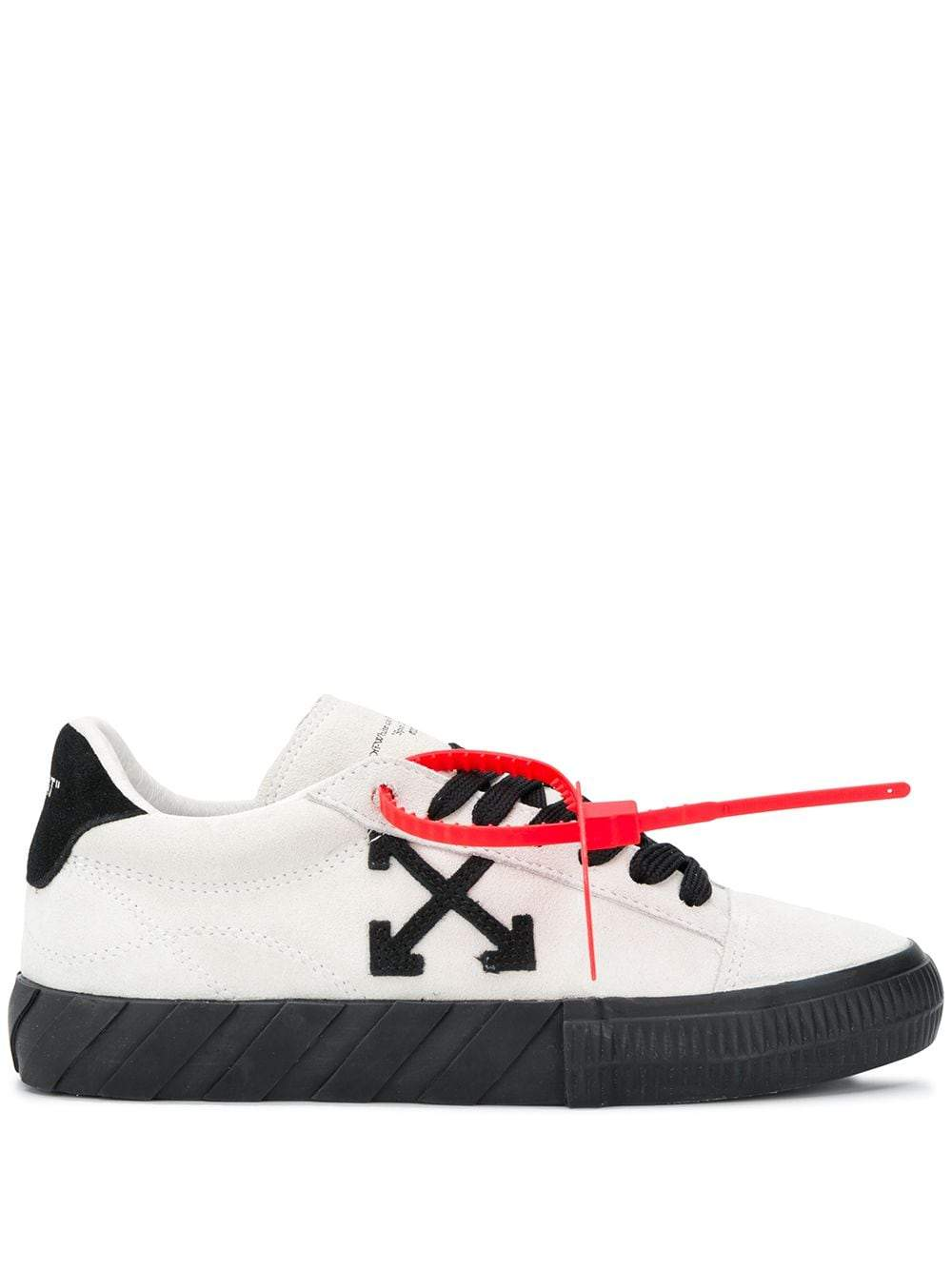 OFF-WHITE Women New Arrow Low Vulcanized Sneakers White - Maison De Fashion