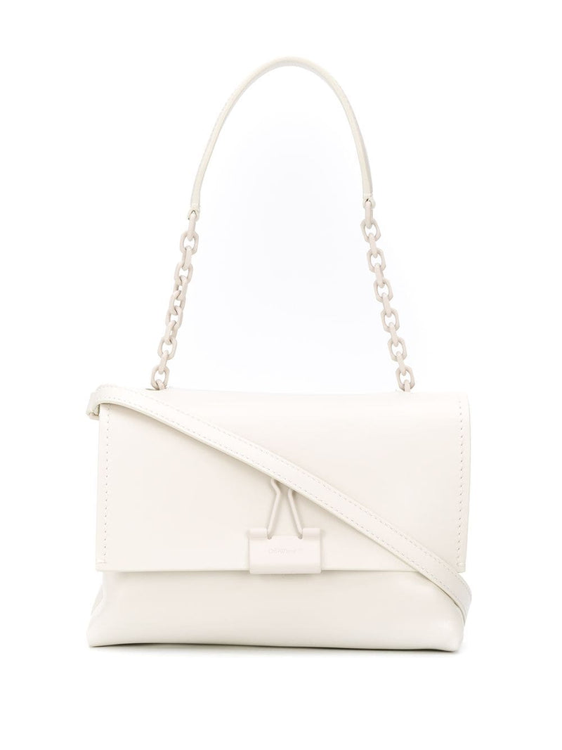 OFF-WHITE binder clip shoulder bag