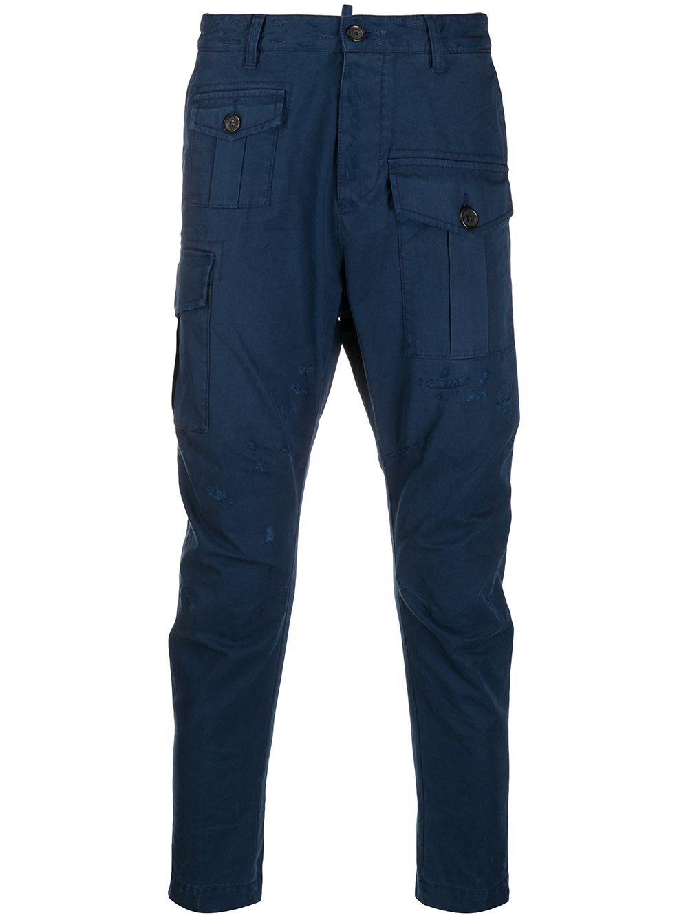 DSQUARED2 Cargo Chinos Navy - Maison De Fashion