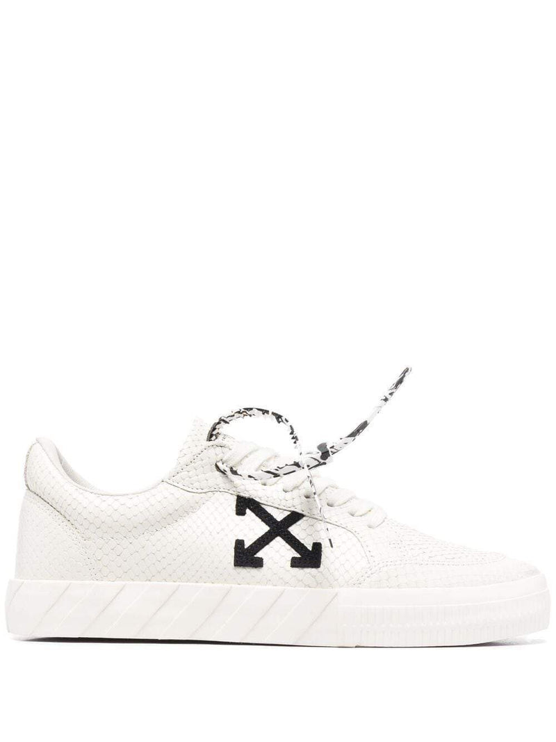 OFF-WHITE Low Vulcanized Sneakers White
