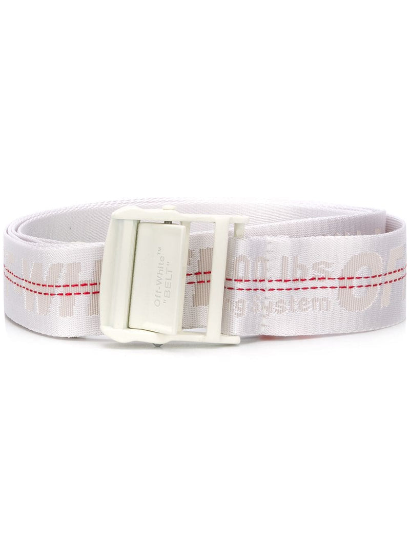OFF-WHITE women's industrial logo belt