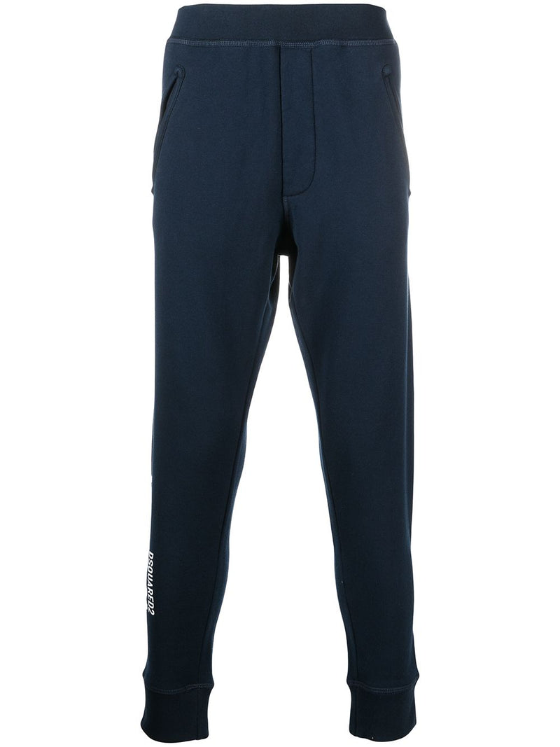 DSQUARED2 Icon Logo Track Pants Navy