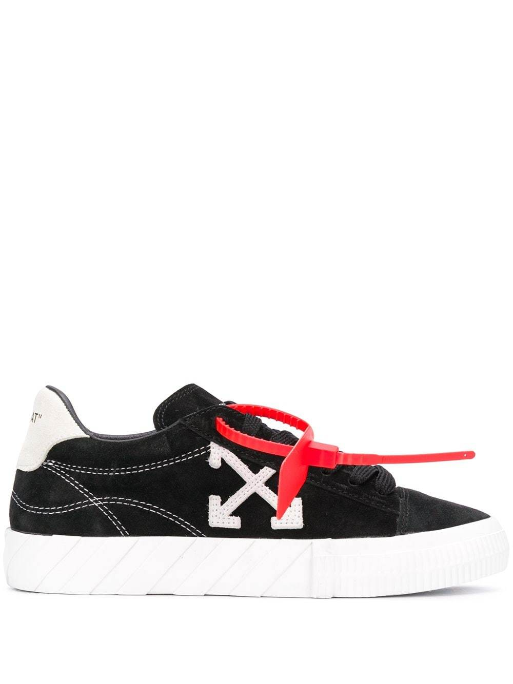 OFF-WHITE Women New Arrow Low Vulcanized Sneakers Black - Maison De Fashion