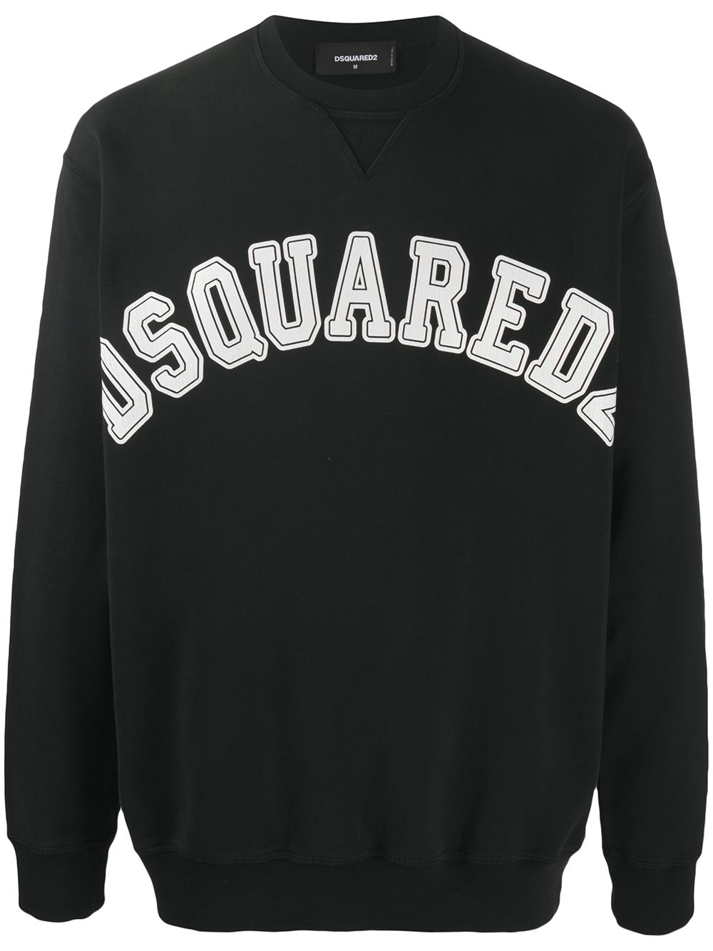 DSQUARED2 Cracked Logo Sweatshirt Black
