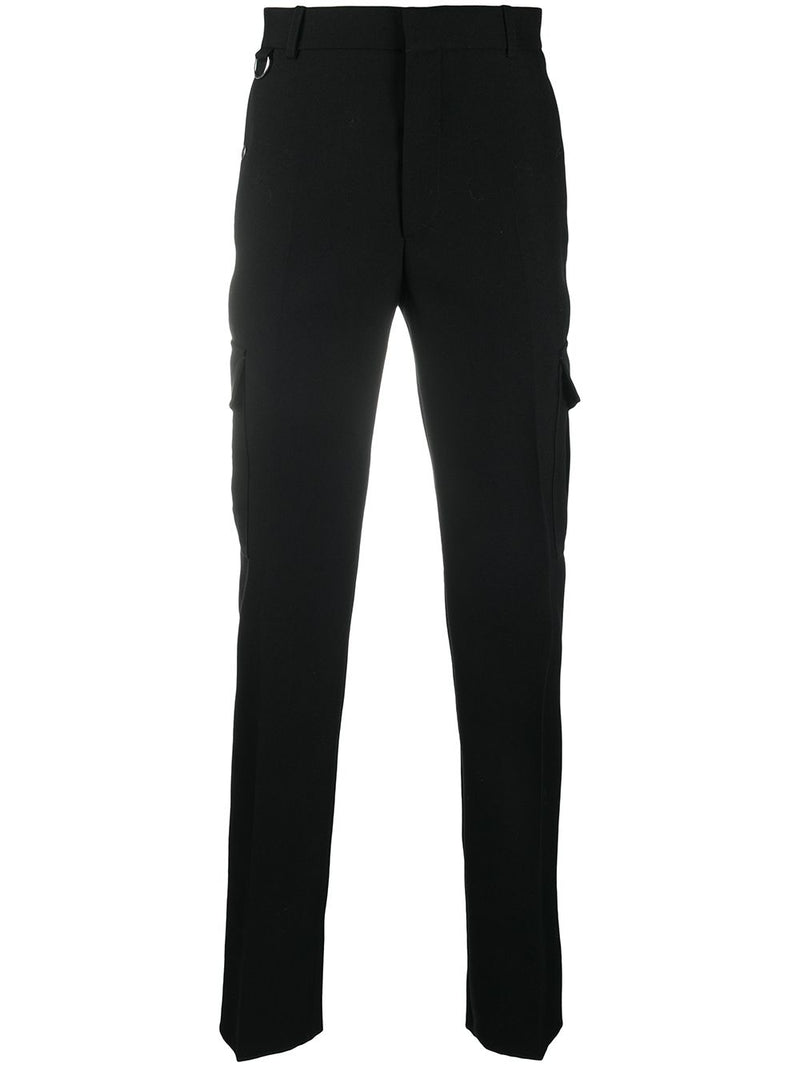 ALEXANDER MCQUEEN Combat Formal Trousers Black