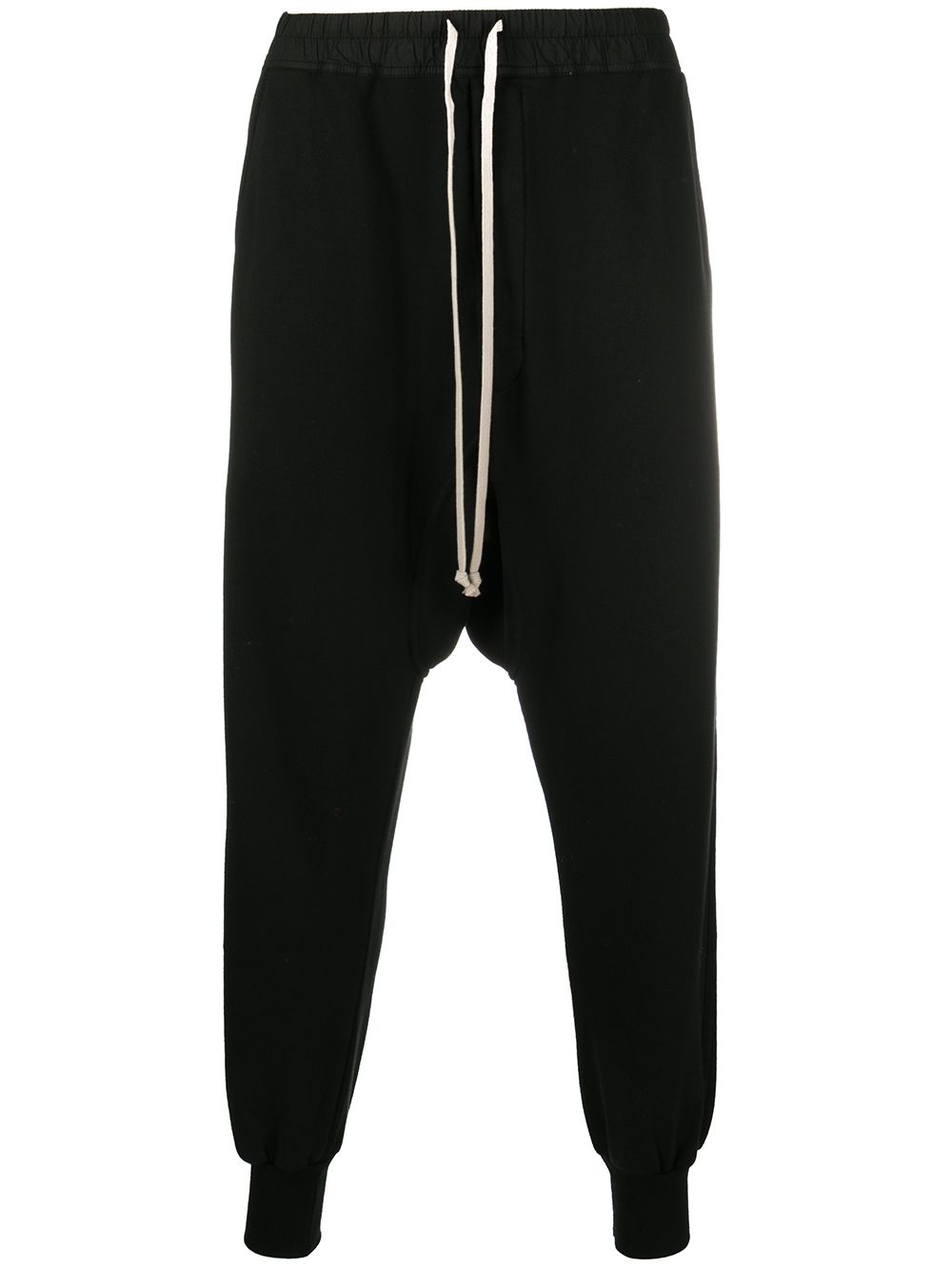 RICK OWENS DRKSHDW Prisoner Drawstring Sweatpants Black