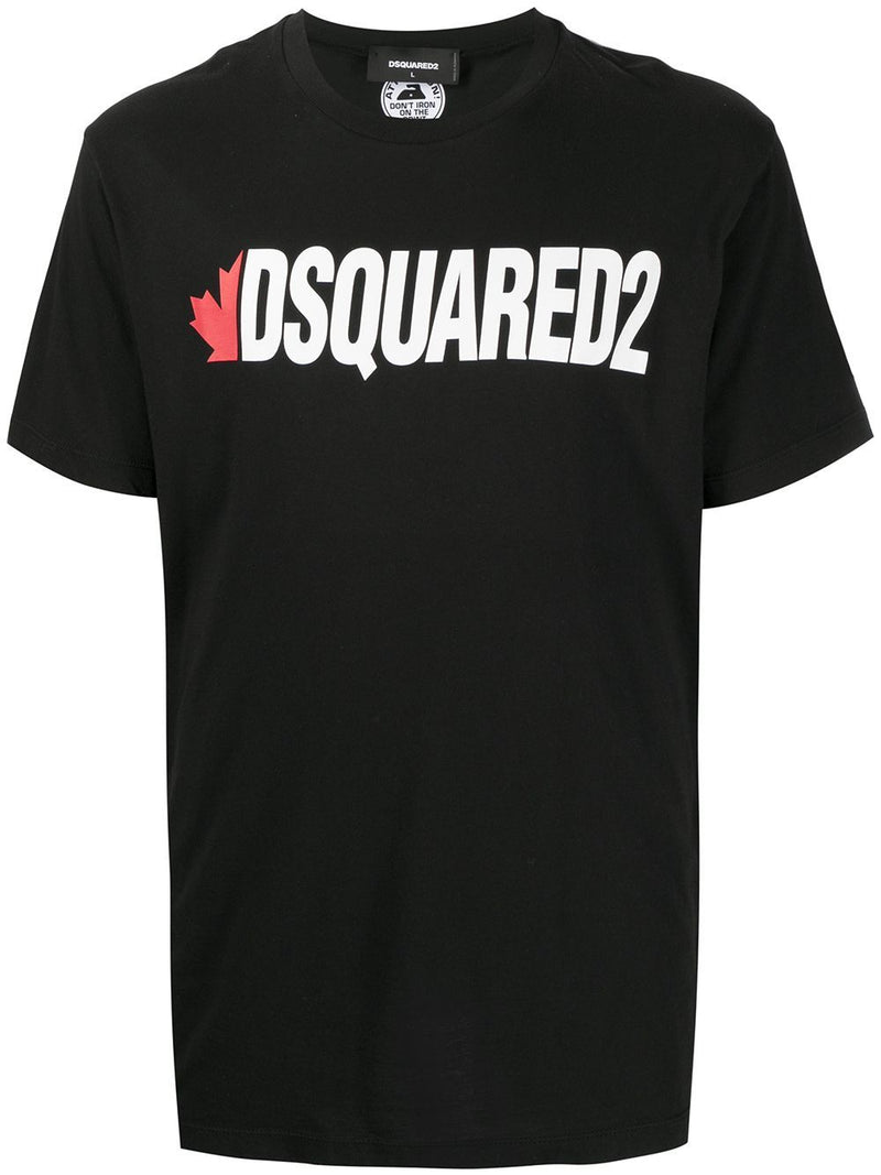 DSQUARED2 Logo T-Shirt Black