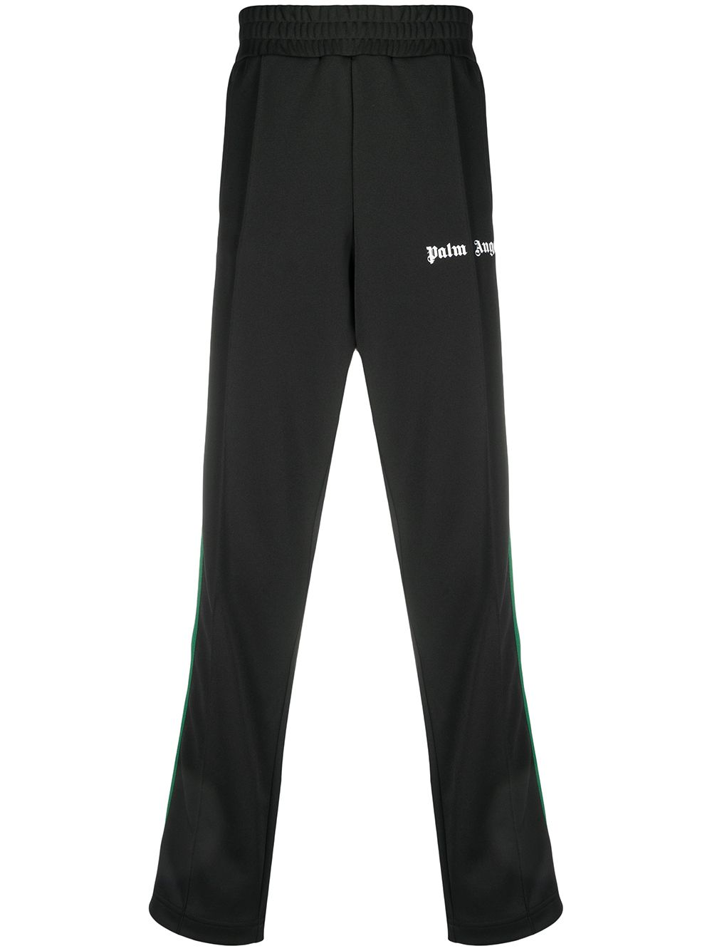 PALM ANGELS College Track Pants Black/Green