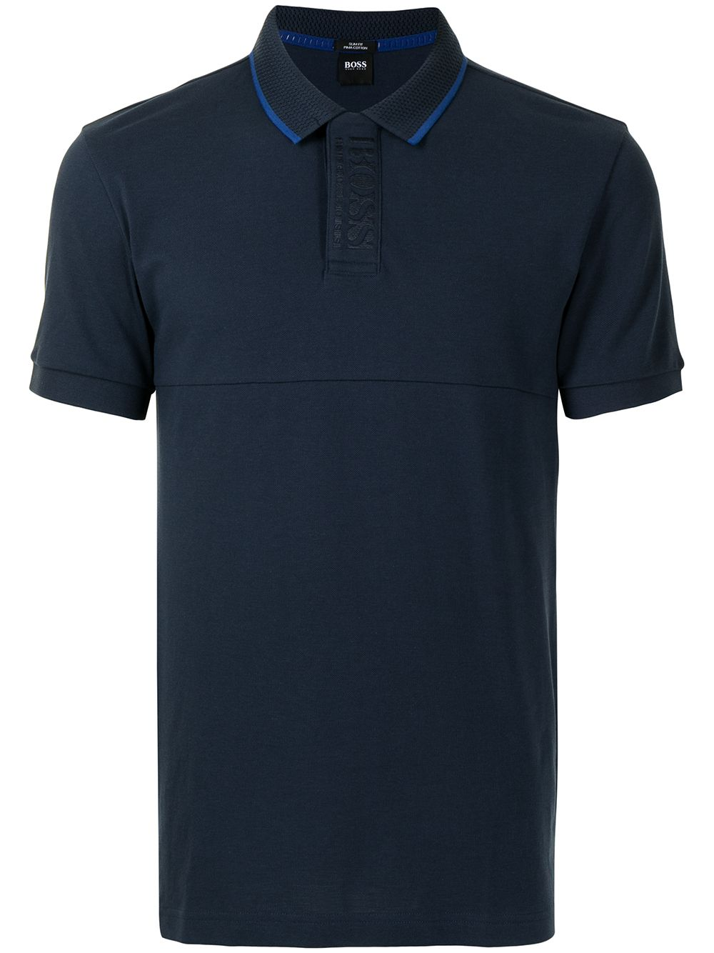 BOSS Slim Fit Polo Shirt Navy