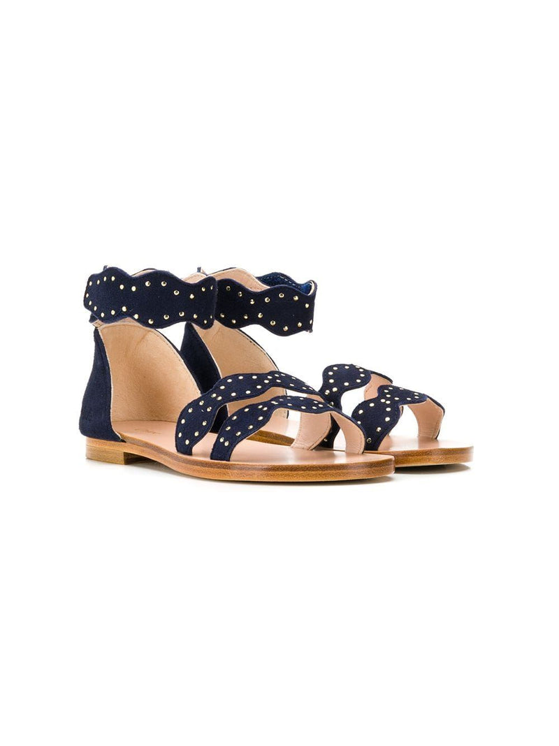 CHLOÉ KIDS studded strap sandals - Maison De Fashion