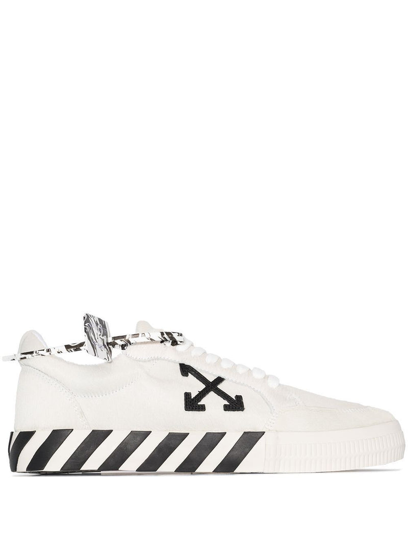 OFF-WHITE Vulcanized Low-Top Sneakers White