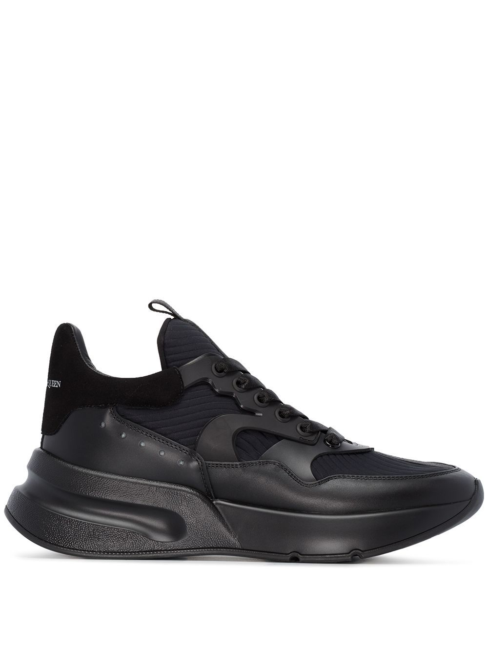 ALEXANDER MCQUEEN Oversized Runner Low Top sneakers Black