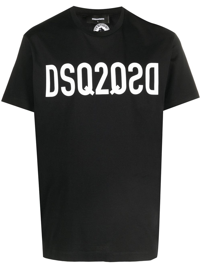 DSQUARED2 DSQ Logo T-Shirt Black