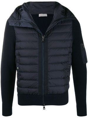 MONCLER tricot jacket navy