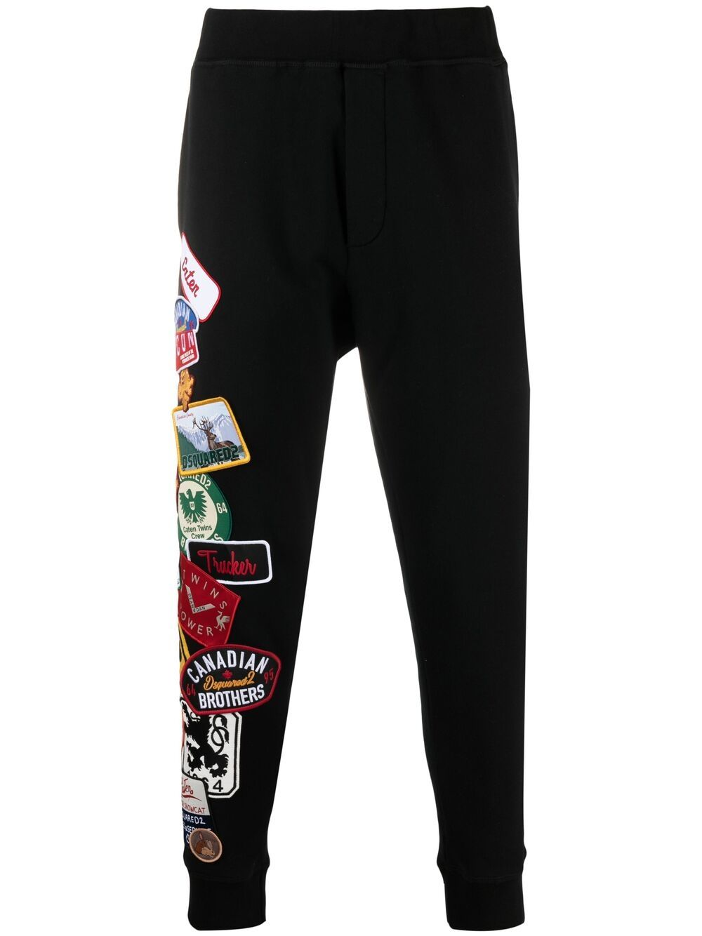 DSQUARED2 Multi Patch Track Pants Black