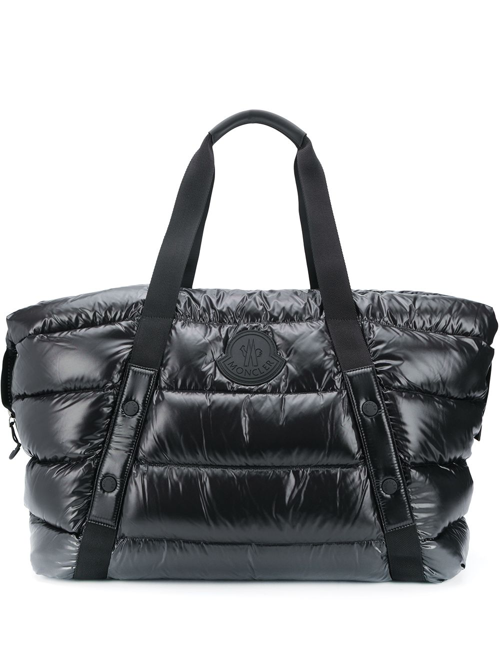 MONCLER Maine Logo Duffel Bag Black
