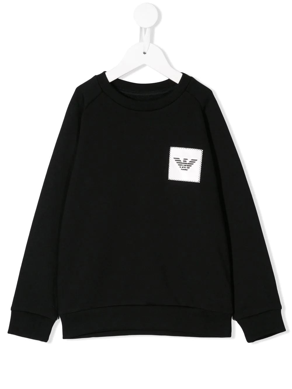 Emporio Armani Kids Logo Patch Sweatshirt - Maison De Fashion