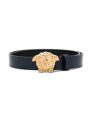 VERSACE KIDS Medusa Belt Navy - Maison De Fashion