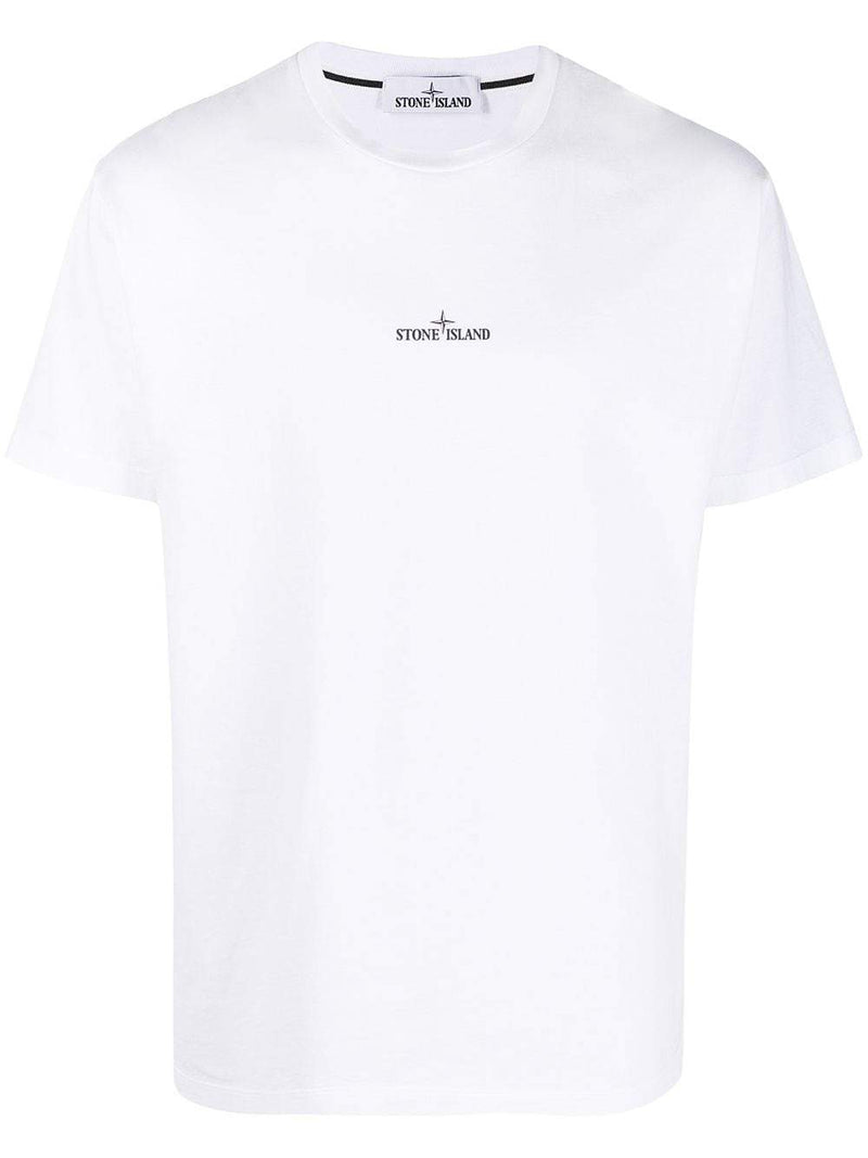 STONE ISLAND Back Marble One Print T-Shirt White