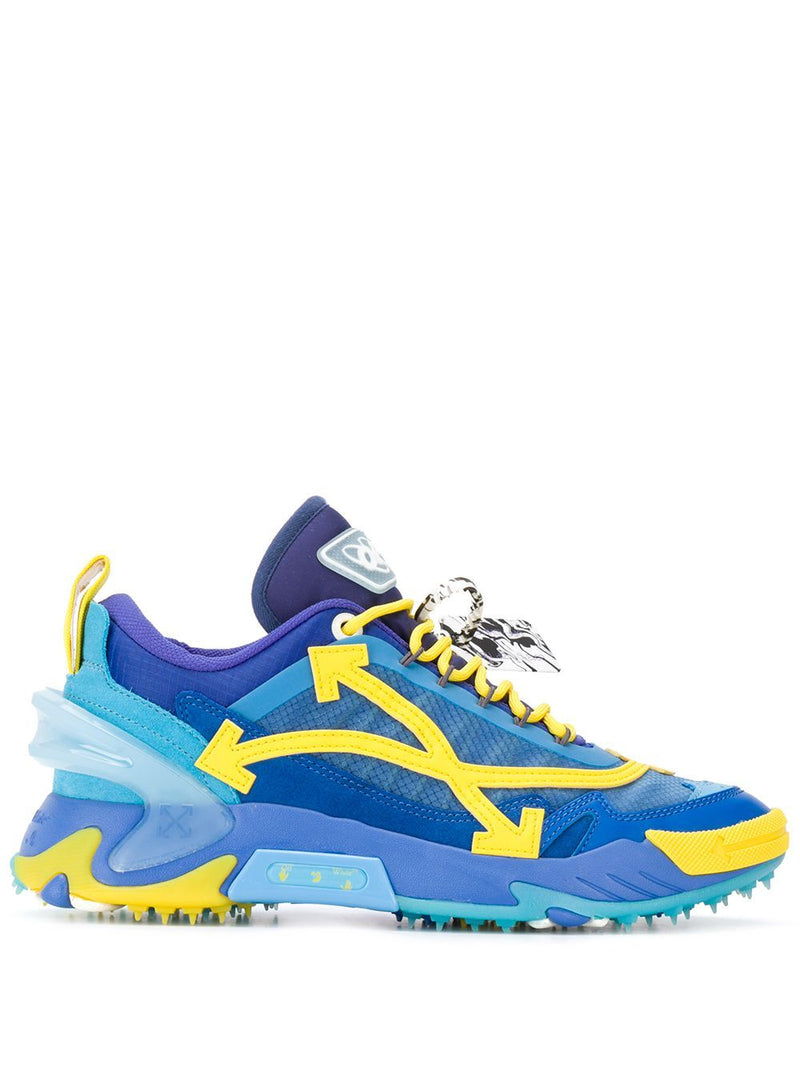 OFF-WHITE ODSY-2000 Sneakers Blue/Yellow - Maison De Fashion