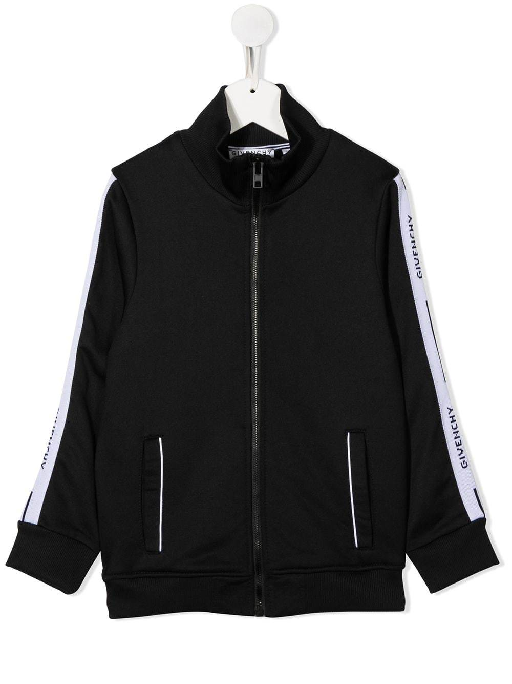 GIVENCHY KIDS Logo Cardigan Black - Maison De Fashion