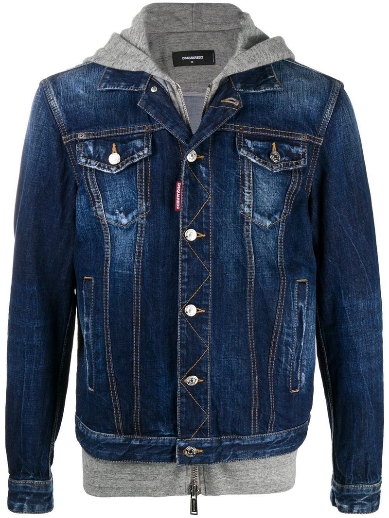 DSQUARED2 ICON Logo Denim Jacket