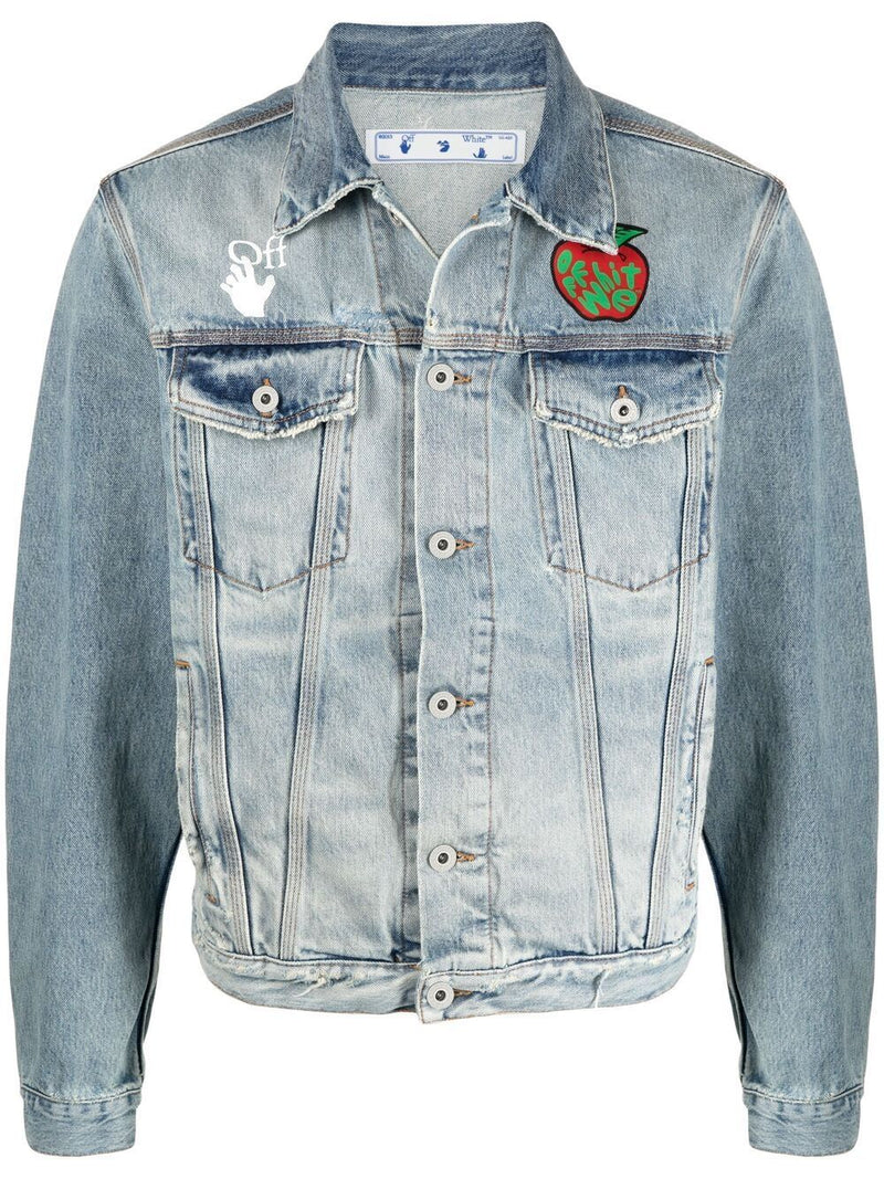 OFF-WHITE Apple Denim Jacket