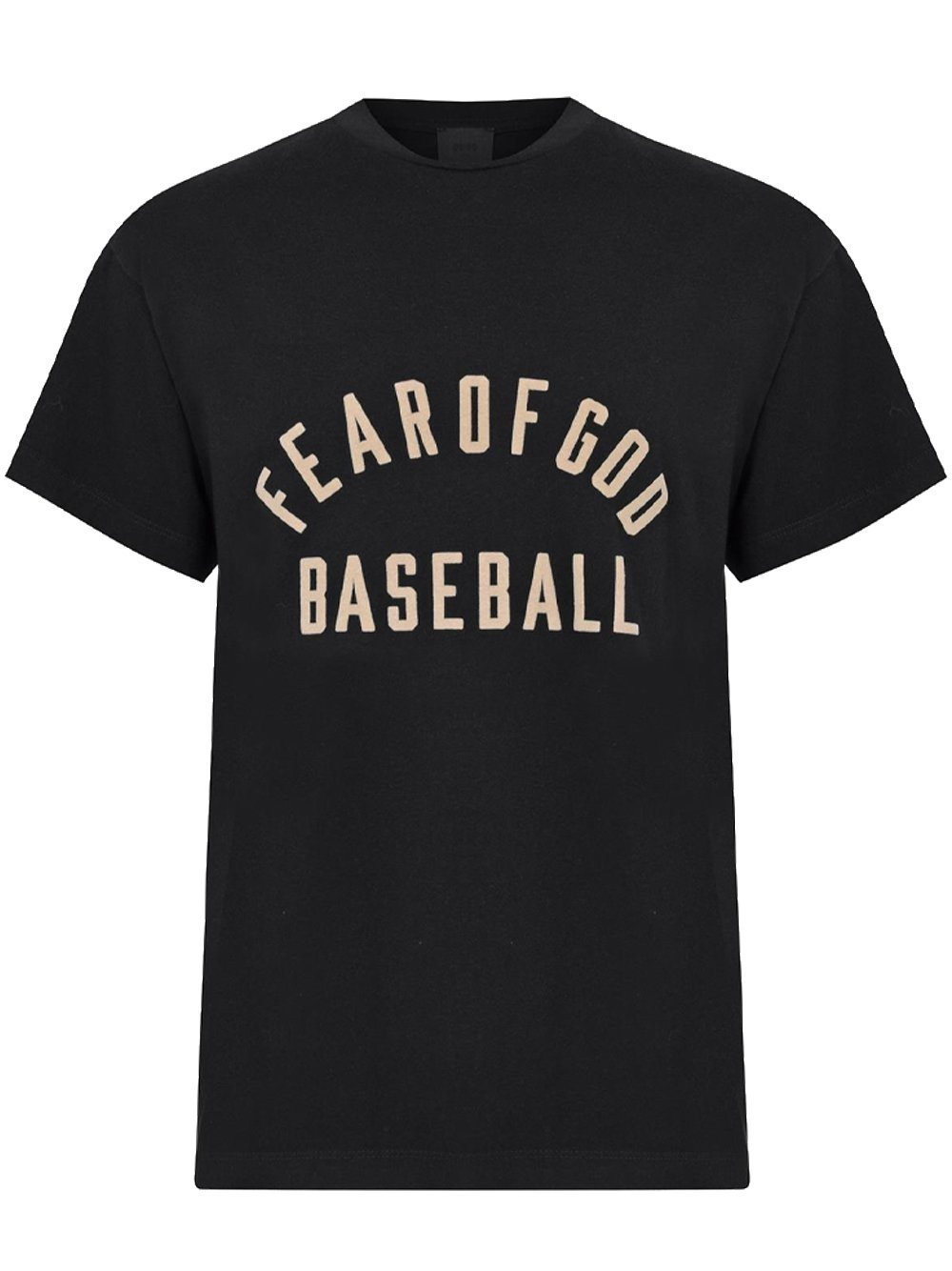 FEAR OF GOD Baseball Logo T-Shirt Black