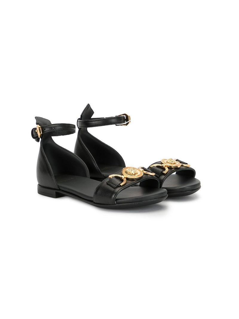VERSACE KIDS Medusa Head Sandals