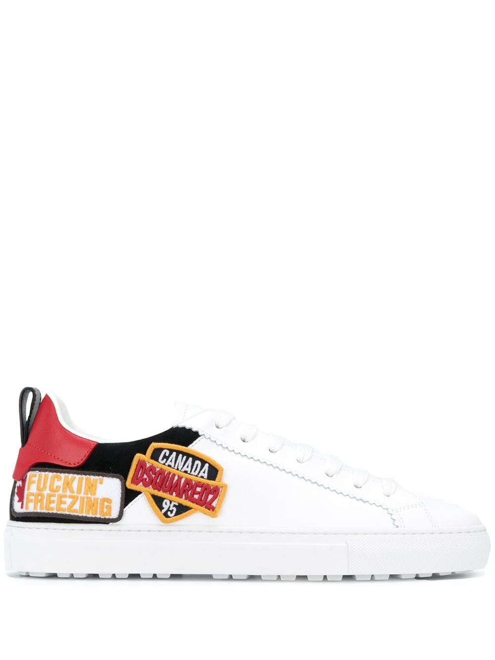 DSQUARED2 San Diego Sneakers White/Black
