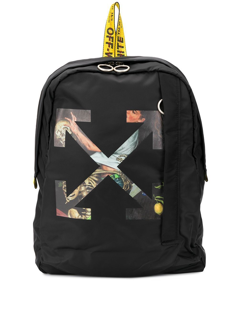 OFF-WHITE Pascal Arrow Backpack Black/Pink