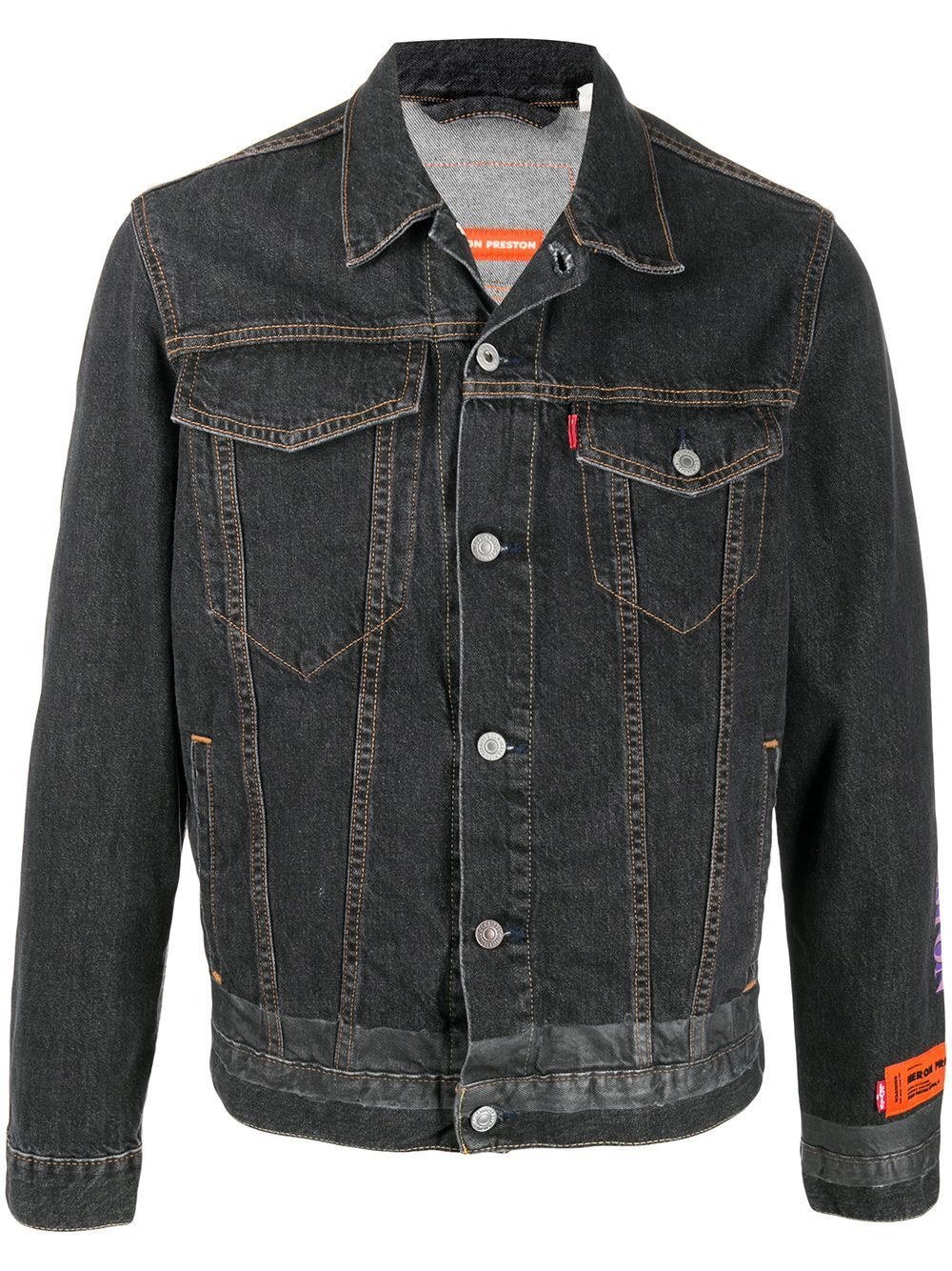 HERON PRESTON Levi's Trucker Jacket Black - Maison De Fashion