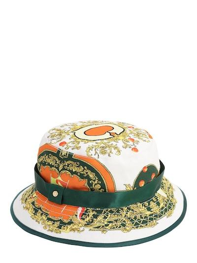 Casablanca les oranges bucket hat